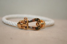 FRED   FORCE 10 Textile Cable Bracelet