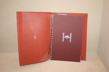 Hermes  Diary Cover & Note