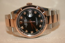 Rolex DATEJUST 10P PG NEW