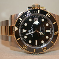 Rolex Submariner NEW 18K Combi
